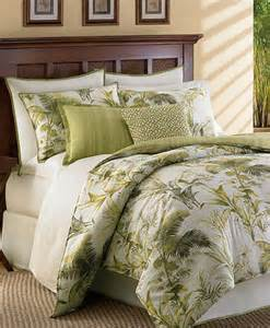 Tommy Bahama Down Comforter Tommy Bahama Island Botanical Green Palm Leaf Multi