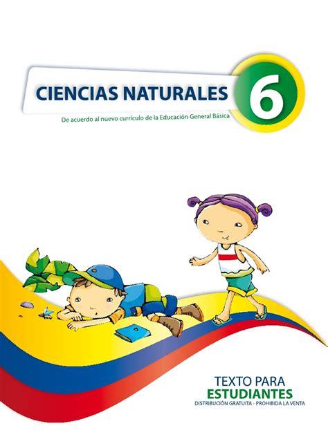 bajar libro de ciencias naturales de 6 grado de la sep naturales 6 1