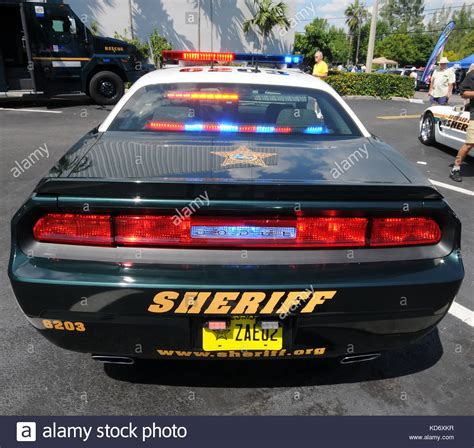 Ft Lauderdale Car Lawyer 2 by County Sheriff Florida Stock Photos County Sheriff