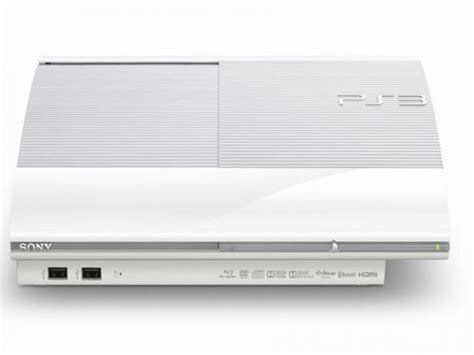 Ps3 Superslim White sony playstation 3 ps3 slim cech 4000b white 250gb console japan japanese ebay