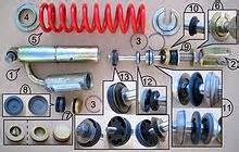 Car Shock Absorber Bounce Test Shock Absorber