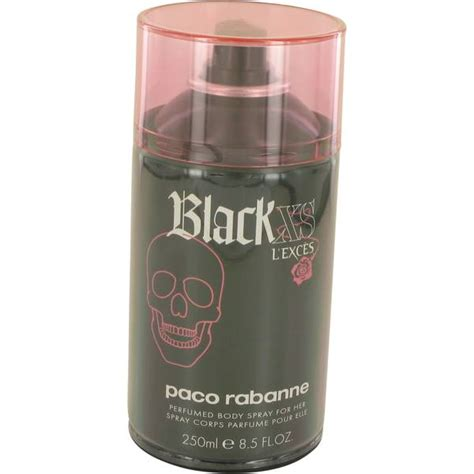 black xs parfum black xs l exces perfume for women by paco rabanne
