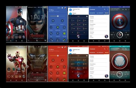 theme line android marvel cm theme engine gets galaxy s6 marvel avenger theme ported