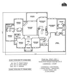 House Plans 4 Bedrooms One Floor One Story Open Floor Plans With 4 Bedrooms Bedroom 1