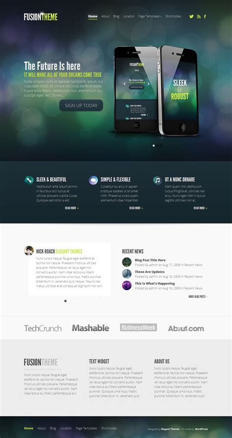 elegant themes mobile responsive 30 best responsive business wordpress themes