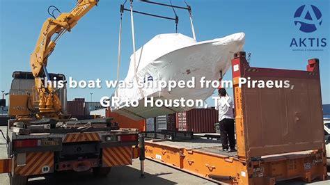 boat transport houston texas aktis freight forwarding company in athens greece
