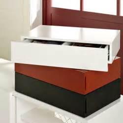 floating media drawer from west elm freshome