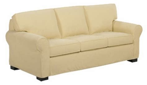 sleeper sofa slipcover queen pillow back queen size sleeper sofa w slipcover