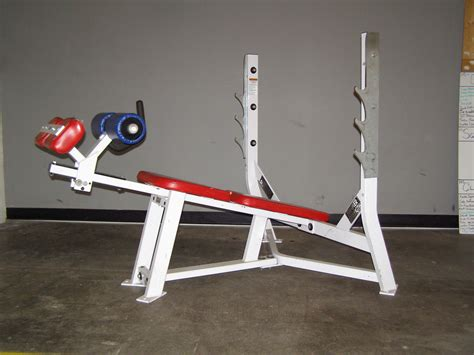 hammer strength sit up bench hammer strength decline bench used gym equipment