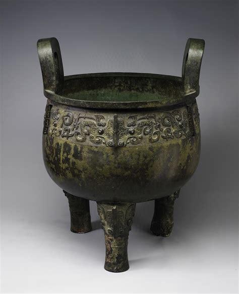 Vase China 商後期 乃孫作祖己鼎