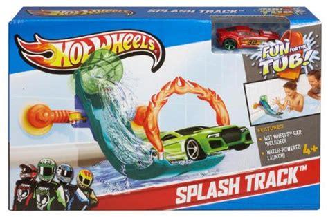hot wheels splash track bathtub toy new ebay