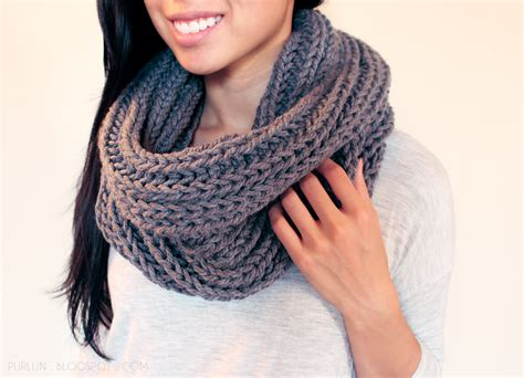 pattern for knitting an infinity scarf purllin textured november infinity scarf free pattern