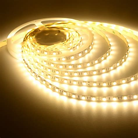 warm white led strip light 5050 indoor tape light led