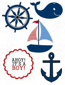 nautical theme baby shower by atomdesign on etsy 6 00