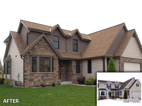 design your own home siding siding callen construction inc muskego wi