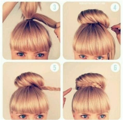hair stayal pic with step high bun hairstyles step by step google search bun