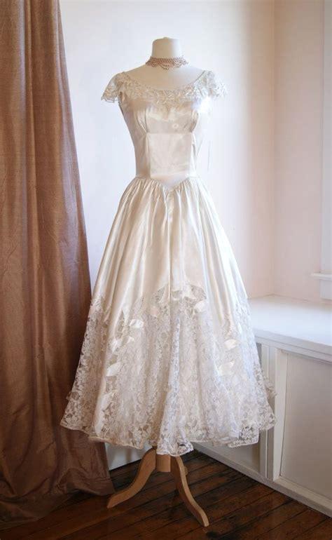1940s Vintage Wedding Dresses by Vintage Wedding Dresses 1940 Elite Wedding Looks