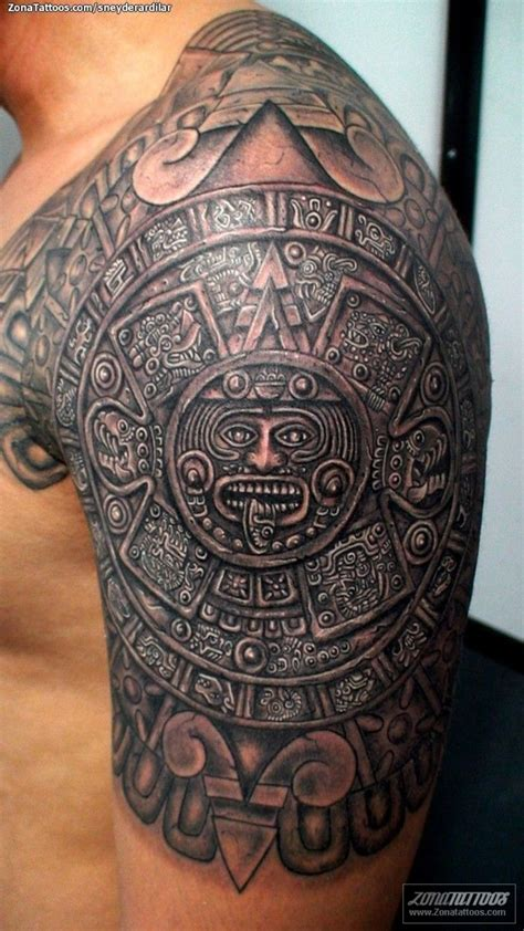 aztec sleeve tattoos designs 40 aztec designs for and