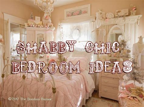shabby chic bedroom ideas   transform  vintage style