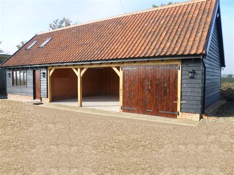 Garages In Suffolk by Home Builder Of Bespoke Oak Cartlodges Garages