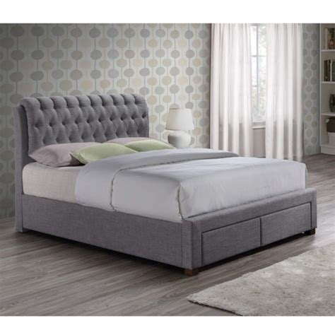 2 double beds birlea valentino 2 drawer double bed grey furniture123