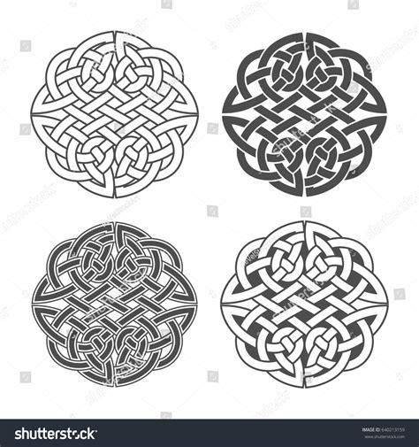 celtic pattern ai vector celtic knot ethnic ornament geometric stock vector