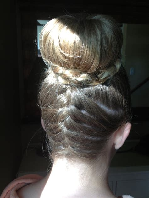 easy sock bun with braid 25 best black white images on
