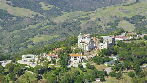 castle san francisco san francisco circa 2014 aerial view of hearst castle
