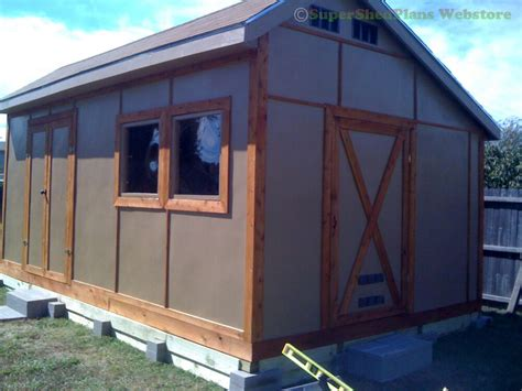 custom design shed plans  gambrel wood backyard shed
