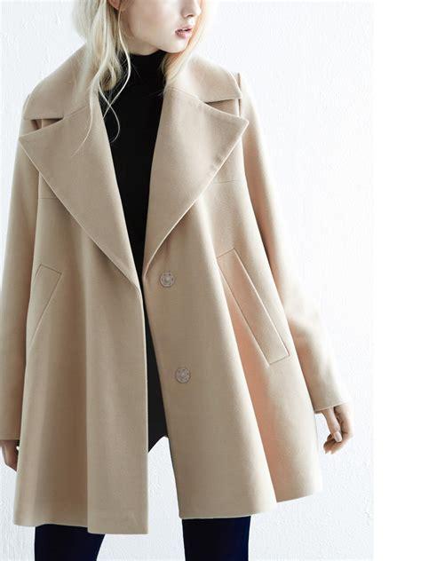 warehouse swing coat warehouse swing coat in natural lyst
