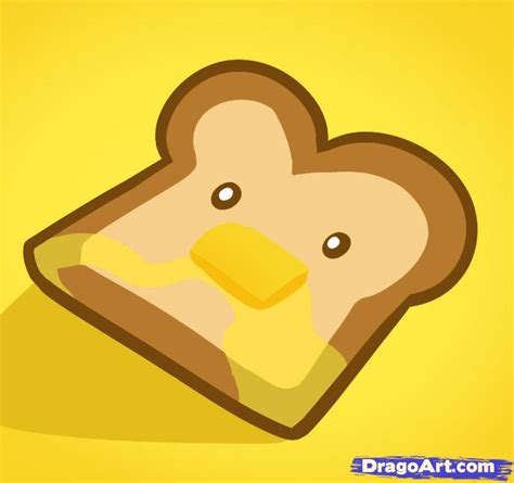 Pop Up Toaster Online How To Draw Toast Toast Step By Step Food Pop Culture