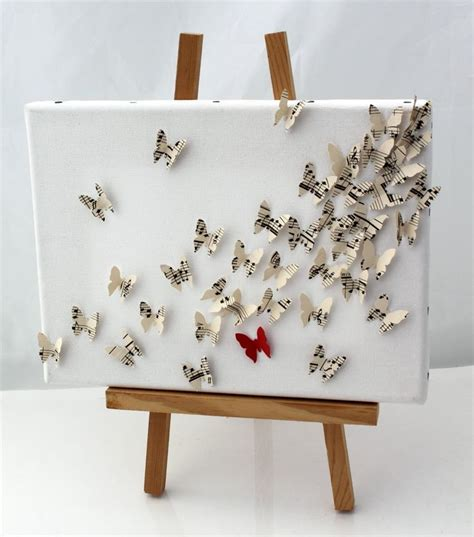wall art collage 3d butterfly wall art collage on canvas canvas painting