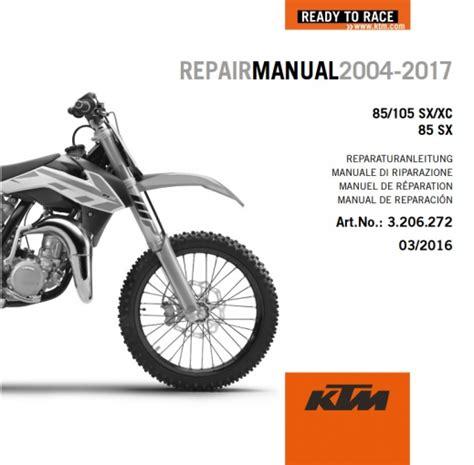 Ktm Manual Aomc Mx Ktm Dvd Repair Manual 85 105 Sx 04 17