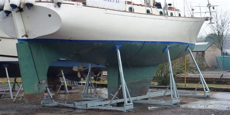 used boat cradles for sale jacobs yacht and boat cradles