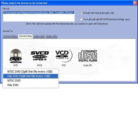 format burn video cd how to burn video to dvd svcd vcd cd blu ray