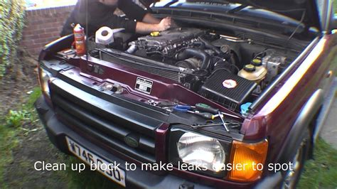 landrover discovery  td auto injector loom replacement