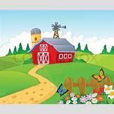 Cartoon Farm Scene | 800 x 660 jpeg 94kB