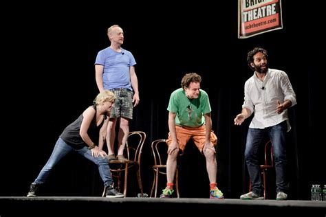 matt walsh parks and rec tightrope comedy on the fly the new york times
