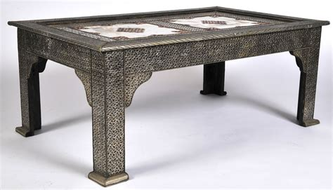 alaterre pomona reclaimed wood and metal coffee table