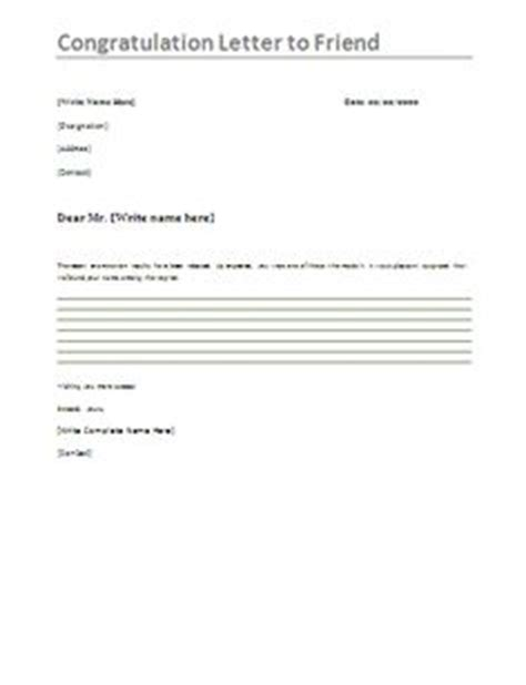 Official Letter Best Wishes 1000 Images About Congratulations Letters On Letter Exle Letter Sle And