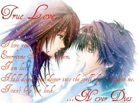 anime quotes about love anime romantic love quotes quotesgram