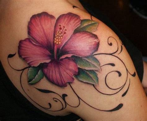 76 wonderful lily shoulder tattoo