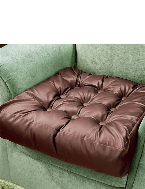 booster cushions for sofas faux leather booster cushion home living room