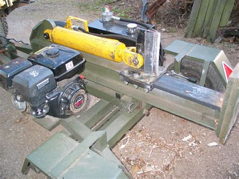 home made log splitter img bestofhouse net 2165