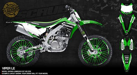 motocross bike stickers kawasaki dirt bike graphics motocross enduro decals