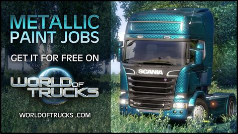 ets2 metallic paint dlc