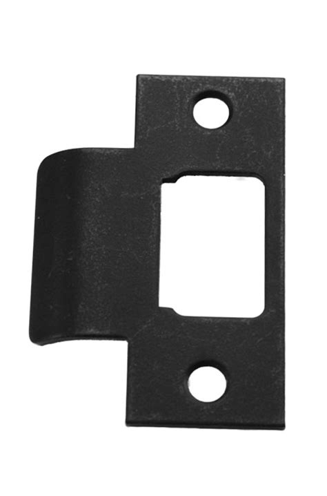 iron door schlage lock kwikset deadbolt quot t quot strike plate iron black 84632 514