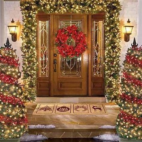 christmas front door decor pictures of christmas door decorating latest fashion 360