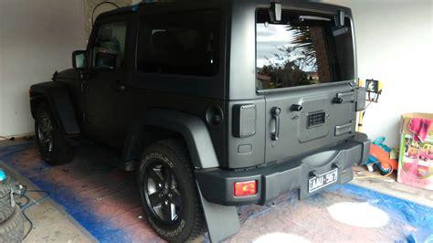 matte grey jeep wrangler 2 door jeep wrangler 2014 matte black plastidip