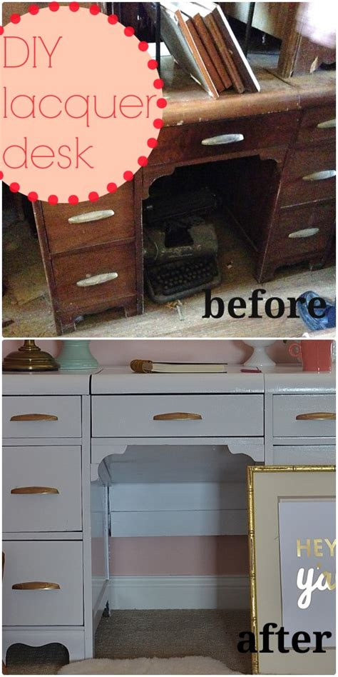 Diy White Desk by Diy White Lacquer Desk And Tween Room Progress In